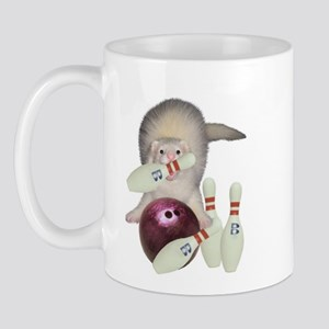 Bowling Ferret Mug