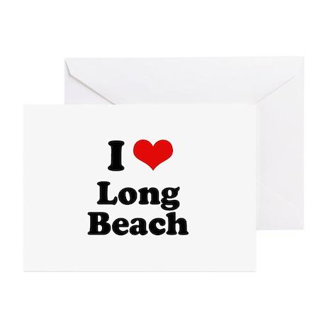 I love Long Beach Greeting Cards (Pk of 20)