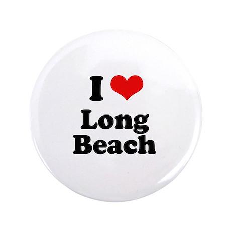 "I love Long Beach 3.5"" Button (100 pack)"