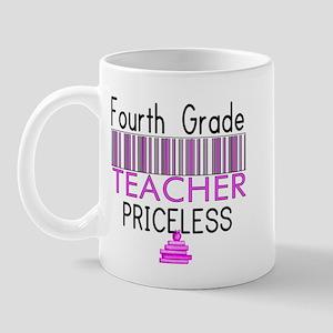 Fourth Grade Teacher Priceles Mug