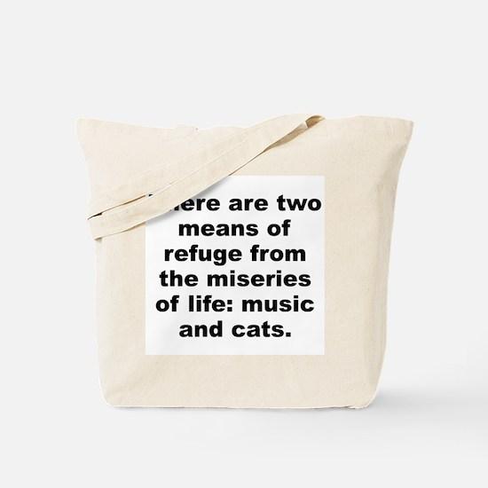 Unique Albert Tote Bag
