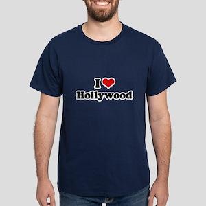 I love Hollywood Dark T-Shirt