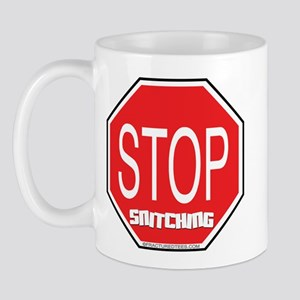 Stop The Snitching Mug
