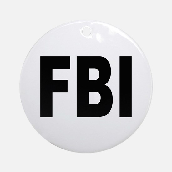 FBI Federal Bureau of Investigation Keepsake (Roun