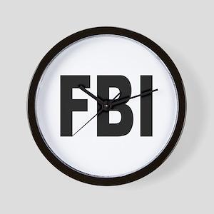 FBI Federal Bureau of Investigation Wall Clock