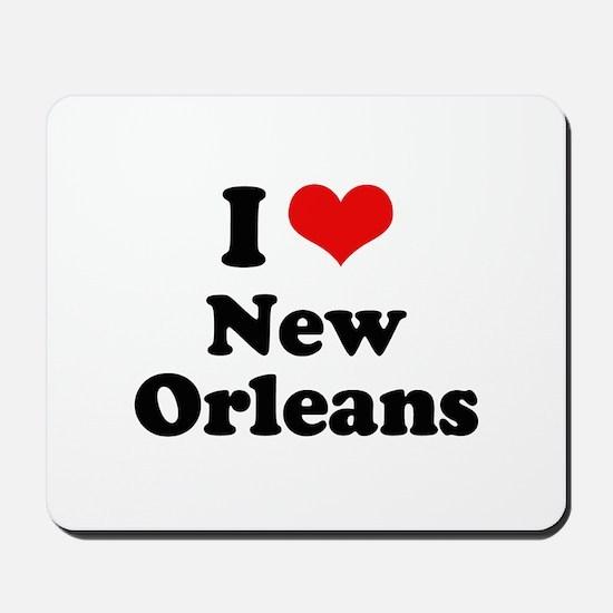I love New Orleans Mousepad
