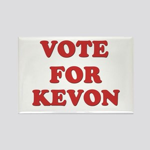 Vote for KEVON Rectangle Magnet