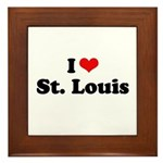 I love St. Louis Framed Tile