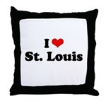 I love St. Louis Throw Pillow