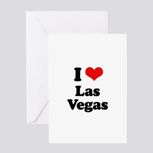 I love Las Vegas Greeting Card