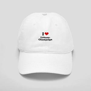 I love Urbana-Champaign Cap