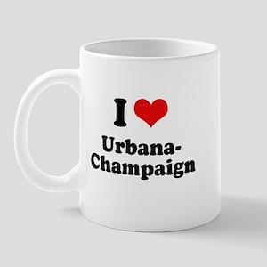 I love Urbana-Champaign Mug