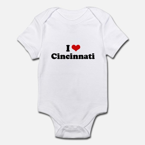I love Cincinnati Infant Bodysuit
