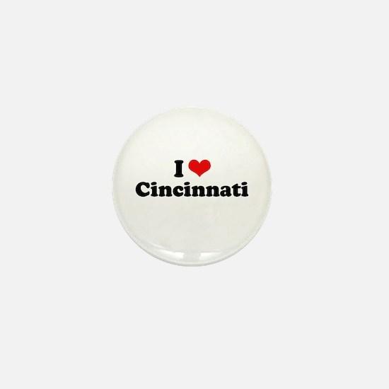 I love Cincinnati Mini Button