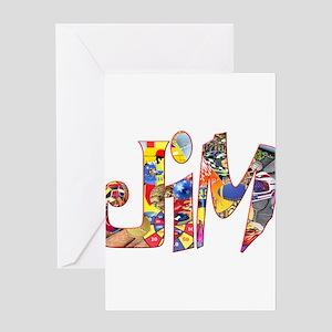 Jim01 Greeting Cards