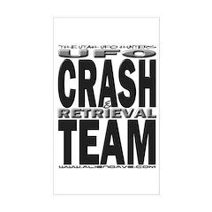 C & R Team Rectangle Decal