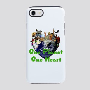 One Planet One Heart iPhone 8/7 Tough Case