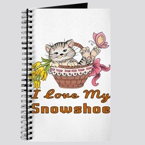 I Love My Snowshoe Designs Journal