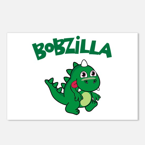 Bobzilla Postcards (Package of 8)