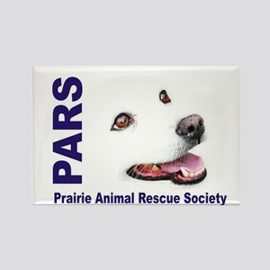 PARS logo Rectangle Magnet