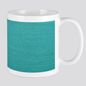 Brushed Teal Mugs