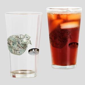CookieJarMoney050110 Drinking Glass