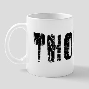 Thomas Faded (Black) Mug