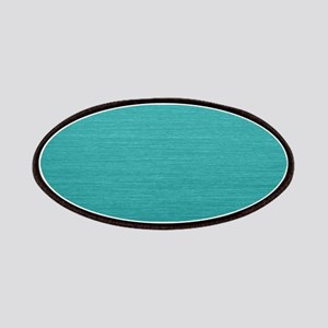 Brushed Teal Patch