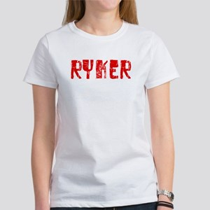 Ryker Faded (Red) Women's T-Shirt