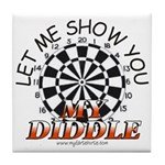 My Diddle Tile Coaster