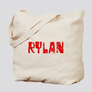 Rylan Faded (Red) Tote Bag