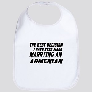 Marrying Armenian Country Cotton Baby Bib
