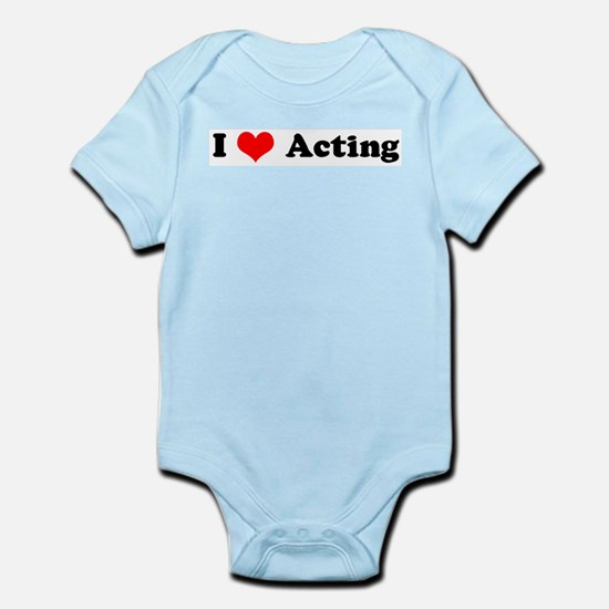 I Love Acting Infant Creeper