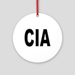 CIA Central Intelligence Agency Keepsake (Round)