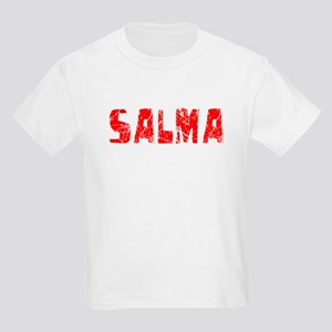 Salma Faded (Red) Kids Light T-Shirt