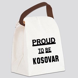 Proud To Be Kosovar Canvas Lunch Bag