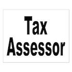 Tax Assessor Small Poster