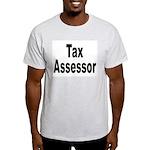 Tax Assessor (Front) Ash Grey T-Shirt