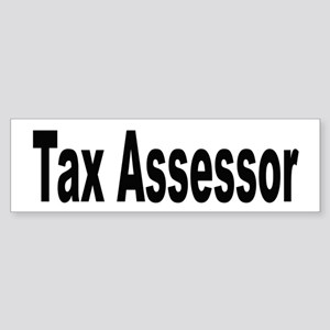 Tax Assessor Bumper Sticker