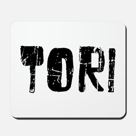 Tori Faded (Black) Mousepad