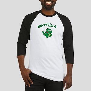 Mattzilla Baseball Jersey