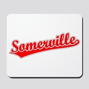 Retro Somerville (Red) Mousepad