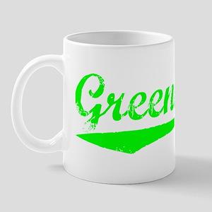 Vintage Greensboro (Green) Mug