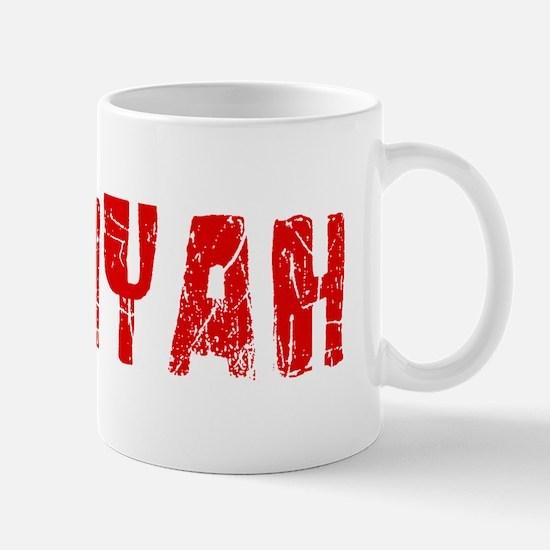 Saniyah Faded (Red) Mug