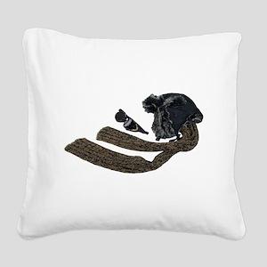 ColdSteampunkAviatorKit050110 Square Canvas Pillow