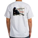 Lincoln/Voting Rights on Ash Grey T-Shirt