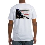Lincoln/Voting Rights on Fitted T-Shirt