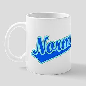 Retro Normal (Blue) Mug