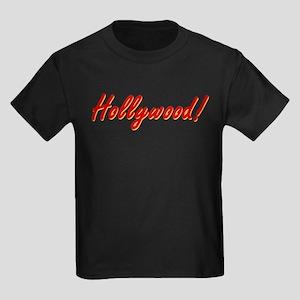 Hollywood! souvenir Kids Dark T-Shirt