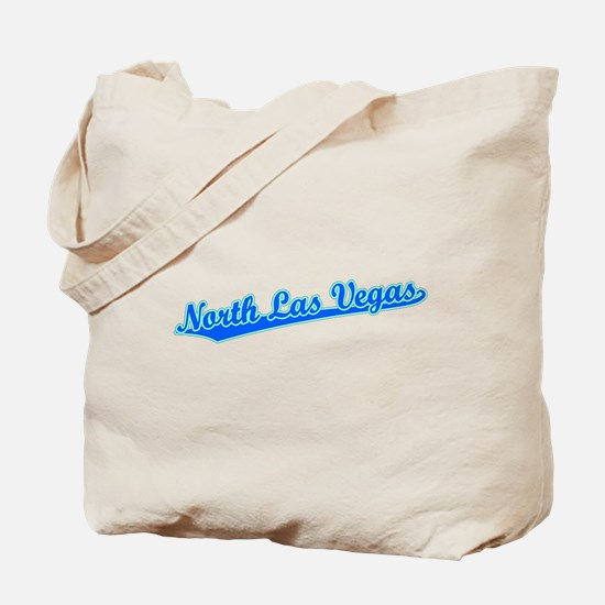 Retro North Las Ve.. (Blue) Tote Bag